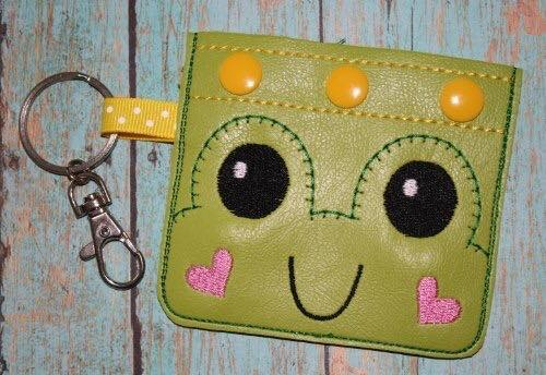 keychain pouch frog